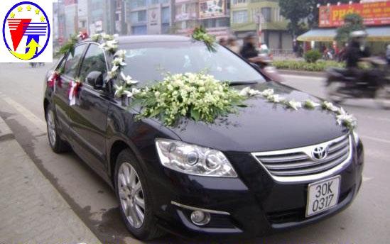 Cho thuê xe cưới Altis tại Hà Nội